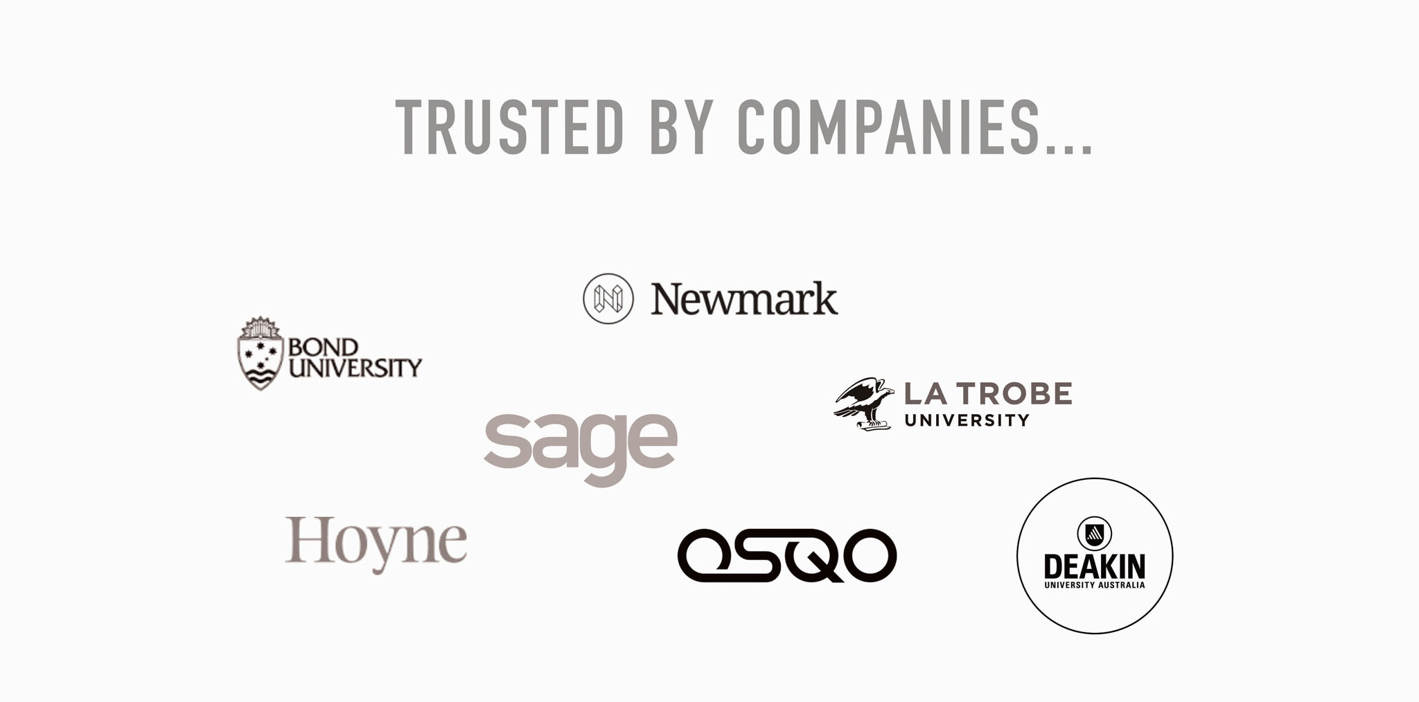 Trusted by companies